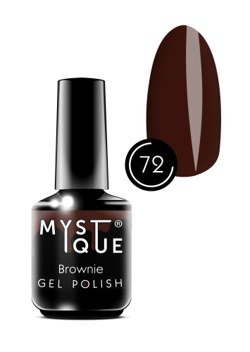 Gel Polish #72 «Brownie»